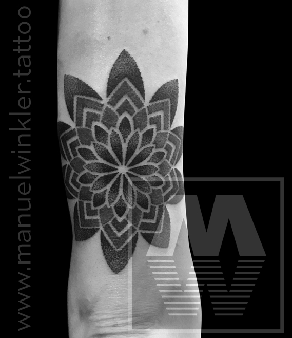 …mandala from the tattoo fest convention krakow last weekend